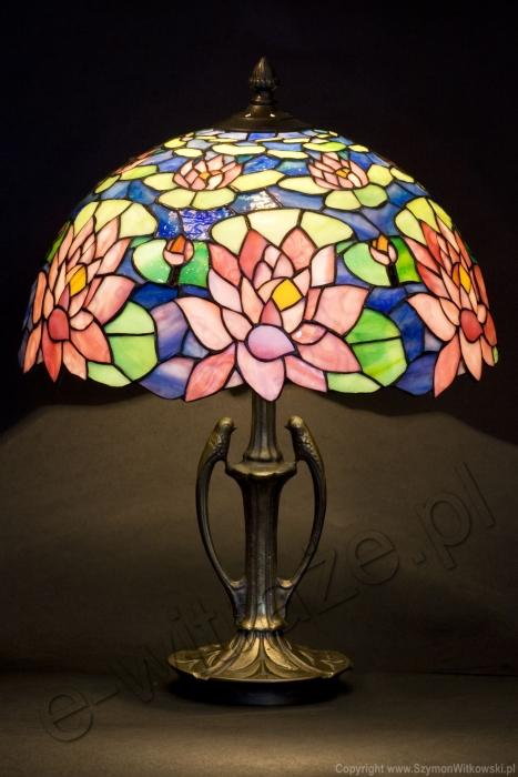 Tiffany LAMPA TIFFANY | Lilia Wodna ⌀ 30 cm