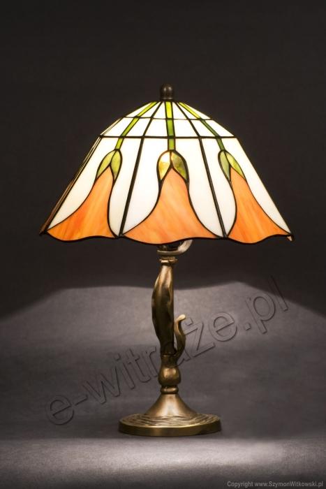 Tiffany MAŁA LAMPKA | Dzwoneczek