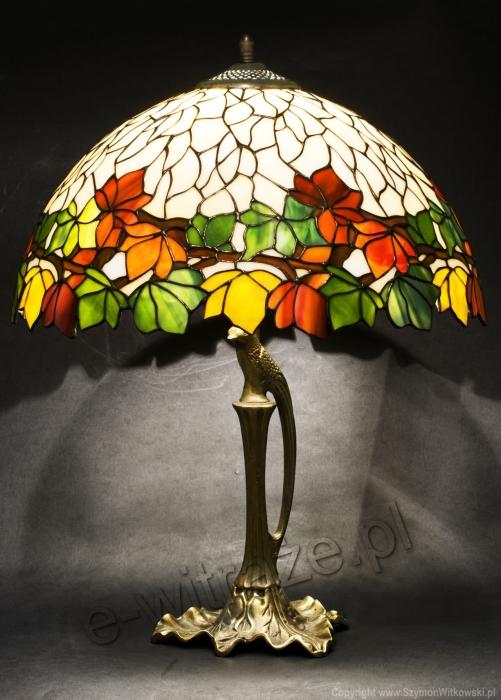 Tiffany LAMPA TIFFANY | Kasztany ⌀ 40 cm