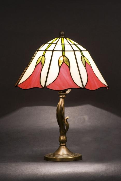 Tiffany MAŁA LAMPKA | Dzwoneczek II