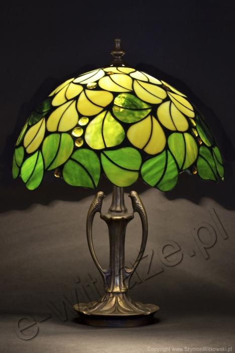 Tiffany LAMPA TIFFANY | Liście wiosenne ⌀ 40 cm