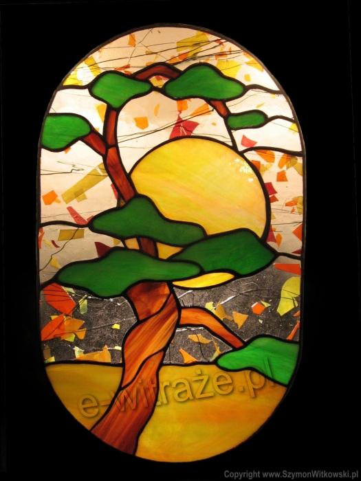Tiffany WITRAŻ PŁASKI | Baobab