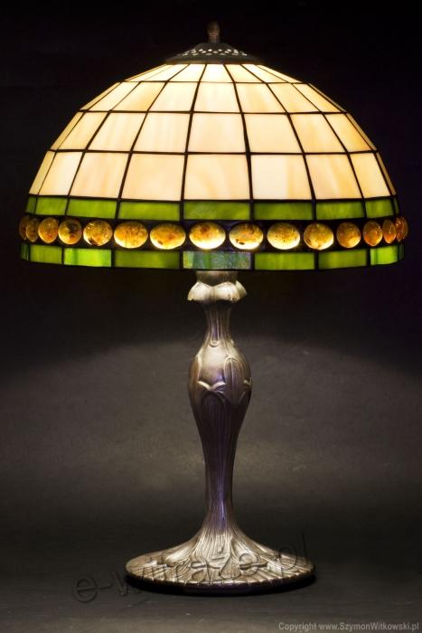 Tiffany MAŁA LAMPKA | Tiffany z bursztynem