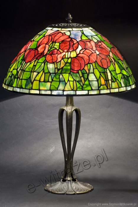 Tiffany LAMPA TIFFANY | Tulipany Tiffanego ⌀ 40 cm