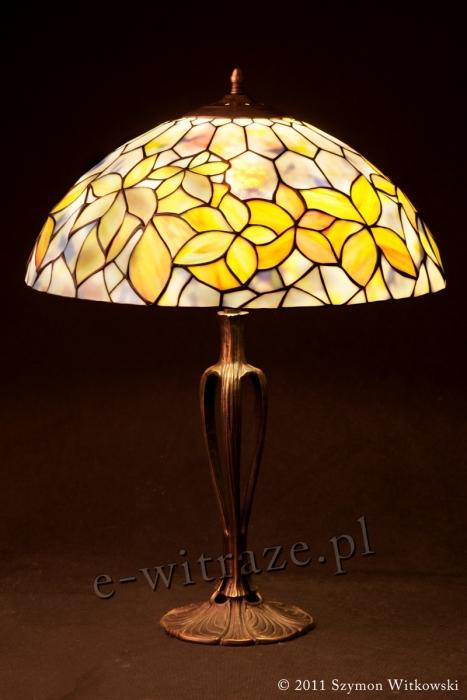Tiffany LAMPA TIFFANY | Woodbine - Pastelowy