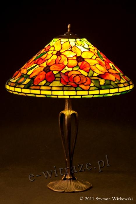 Tiffany LAMPA TIFFANY | Peony - Piwonie ⌀ 40 cm