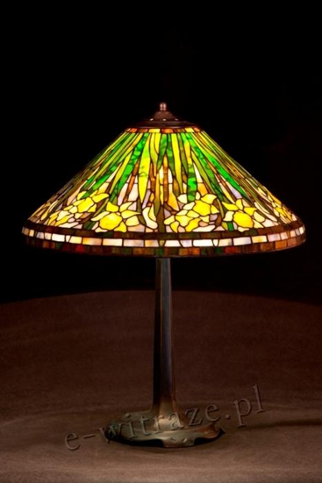 Tiffany LAMPA TIFFANY | Żonkil skośny ⌀ 50 cm