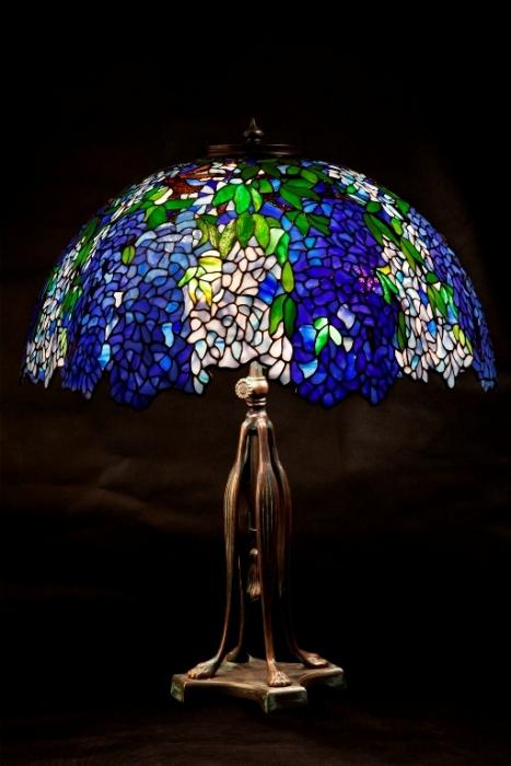 Tiffany LAMPA TIFFANY | Laburnum granat ⌀ 56 cm
