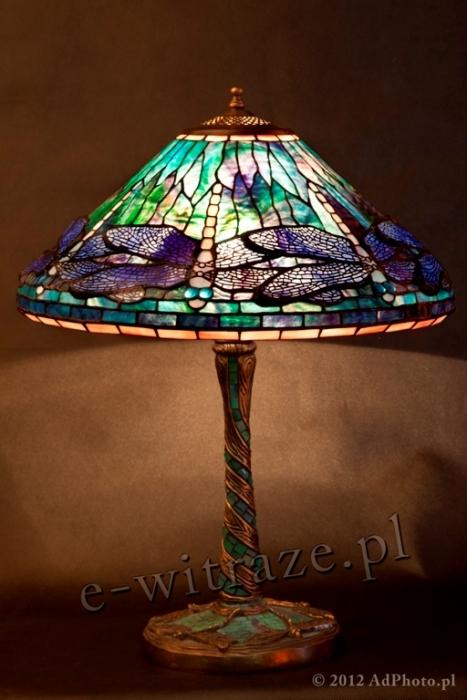 Tiffany LAMPA TIFFANY | Ważka Dragonfly ⌀ 40 cm