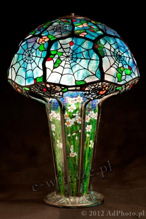 Tiffany LAMPA TIFFANY   Cobweb - Pajęczyna