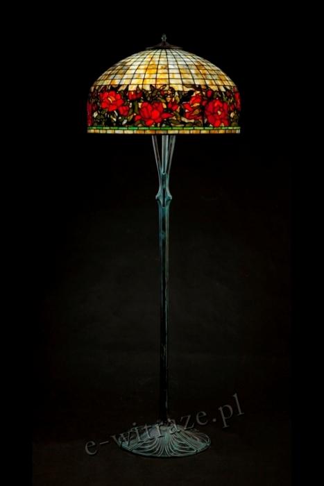 Tiffany LAMPA TIFFANY | Peony wielkie ⌀ 66 cm
