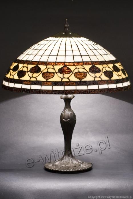 Tiffany LAMPA TIFFANY | Acorn brązowy ⌀ 40 cm