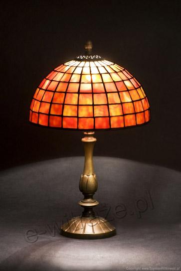 Tiffany MAŁA LAMPKA | Misterna klasyka