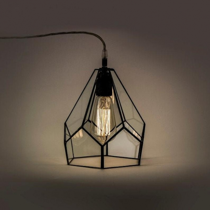 Tiffany LAMPA INDUSTRIALNA | Diament