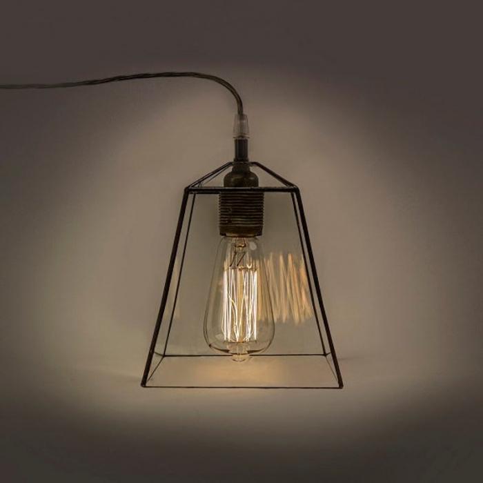 Tiffany LAMPA INDUSTRIALNA   Trapez
