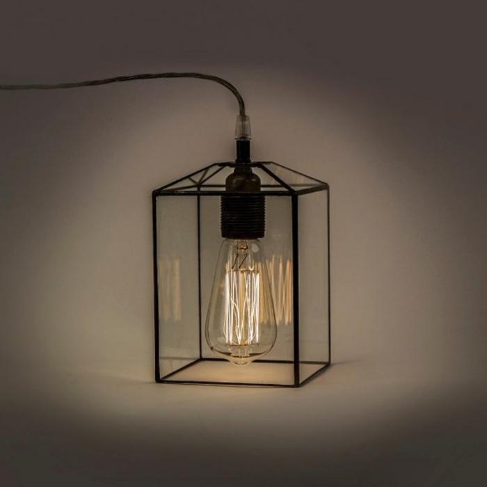 Tiffany LAMPA INDUSTRIALNA | Kwadrat