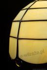 MAŁA LAMPKA | Klasyczny beż witrażowa