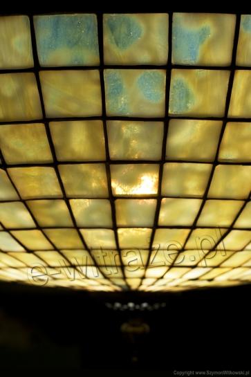 PLAFON WITRAŻOWY | Parasol plafon witrażowa
