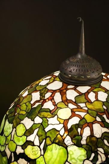 LAMPA TIFFANY | Hydrangea Wielka witrażowa