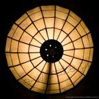 MAŁA LAMPKA | Szklane oczka witrażowa
