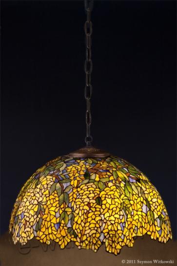 LAMPA TIFFANY | Laburnum ⌀ 56 cm witrażowa