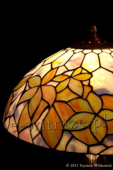 LAMPA TIFFANY | Woodbine - Pastelowy witrażowa