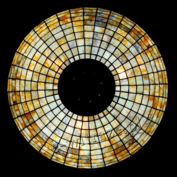LAMPA TIFFANY | Peony wielkie ⌀ 66 cm witrażowa