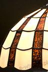 MAŁA LAMPKA WITRAŻOWA   Promienie witrażowa