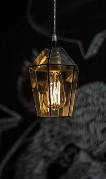 LAMPA INDUSTRIALNA | Brylant witrażowa