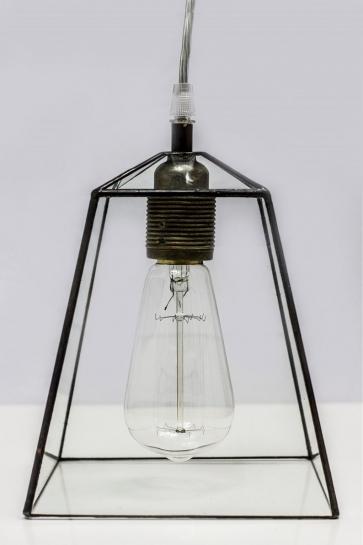 LAMPA INDUSTRIALNA   Trapez witrażowa