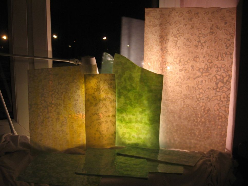lampa tiffany - Hydrangea